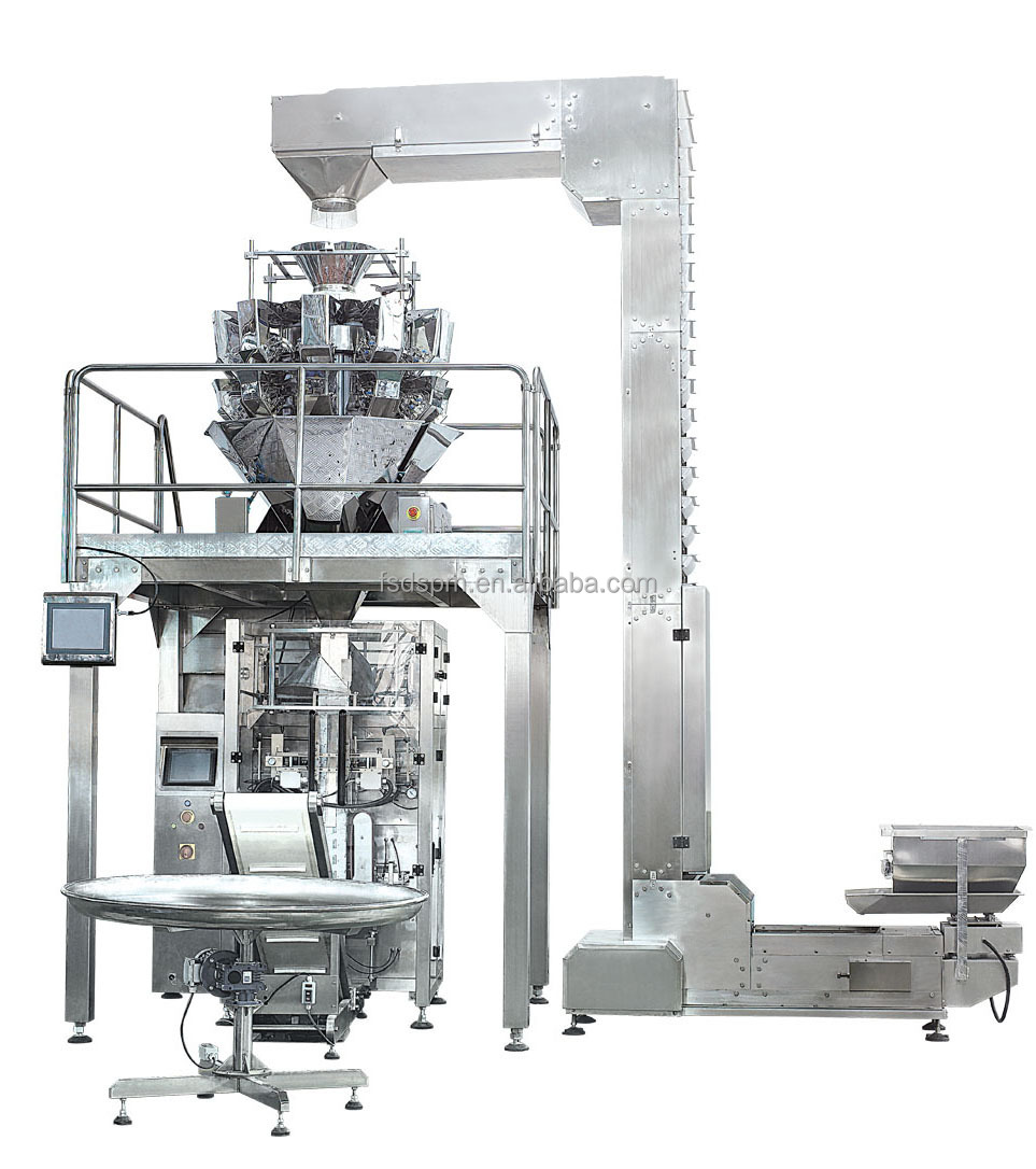 Automatic weighing ice cubes/Ice block packaging machine