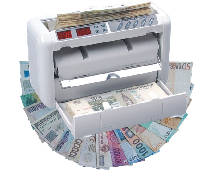 Portable Money counter