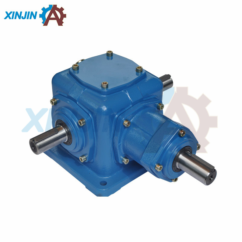 ISO certificated China factory Low Noise 90 Degree Spiral Bevel bonfiglioli variator gearbox