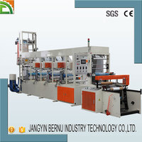 horizontal type bags film blowing plastic printer machine