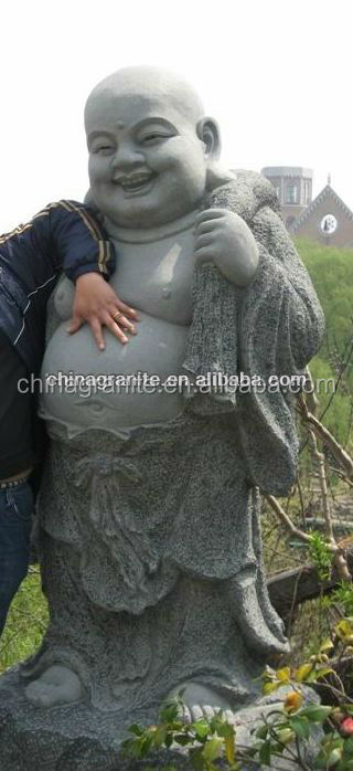 Top selling chinese god laughing tall buddha statue for sale