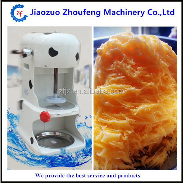 High quality industrial snow cone shaved ice shaver Ice Crusher