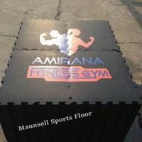 Sound Insulation Rubber Flooring For Fitness