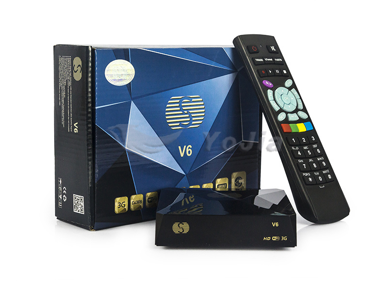 Original Mini satellite receiver S-V6 HD digital set top box