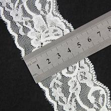 Supplier Polyester / 5CM Spandex Guipure Lace Trim / Polyester Lace / Guipure / Lace for Dress Decoration