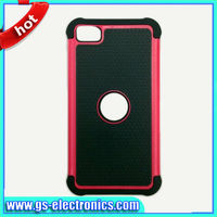 2 in 1 Cell Phone Case For Blackberry Z10 PC shell with Silicone Protector