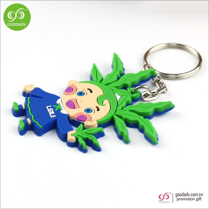 OEM factory customized hot sale gift plastic 3d Keychain