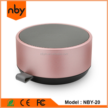 Top Grade Private Model Mobile Laptop Metal Bluetooth Outdoor Speaker With Woofer for Handsfree Calling NBY 20