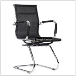 C01D# Low price top sell colorful mesh reception office chair for visitor