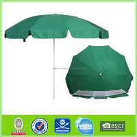 Latest designs 10 years experience Cheap price 8 steel ribs outdoor beach umbrella