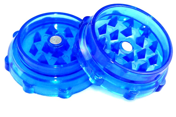 T015GP LVHE Factory 55mm 2 Parts Tobacco Herb Grinder Plastic Grinder