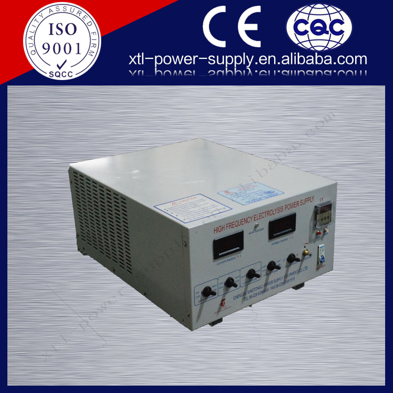 8V 400A electroplating rectifier for itanium alloy