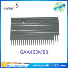 Aluminum 24 teeth escalator parts escalator comb plate GAA453MB3