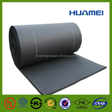 pvc nbr roofing material insulation fire retardant rubber foam sheet