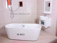 Freestanding Mini Indoor Portable Acrylic Massage Bathtub whirlpools one person hot tub
