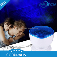 Ocean Sea Daren Waves ABS LED Night Light Projector Romantic Relaxing Lamp with Speaker