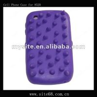Silicon Cell Phone Case Covers for blackberry 8520