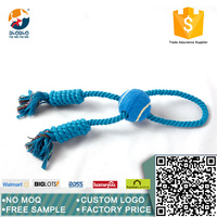 Amusement sleeping breathing pet dog rope toy