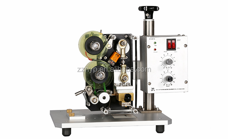 Manual Candy Wrapping Expiry Date Hot Stamp Machine