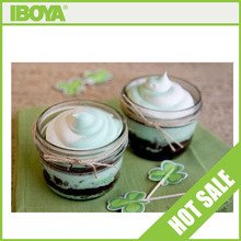 Fast Delivery 120ml Glass Mason Jar with Silver lid