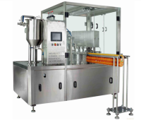 stand up pouch with spout filling sealing machinery