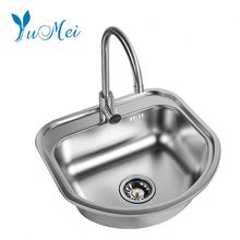Philippines kitchen sink used commercial stainless steel 304 wash basin