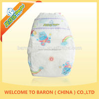 Economic Baby green soft super dry large quantity lovely diapers