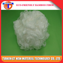 Organic certified bamboo fiber filling for pillows