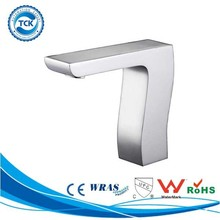 Luxury bathroom design ceramic valve sensor faucet