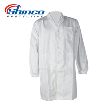 Cotton flame retardant lab coat