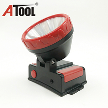 Factory price wholesale battery powered plastic led headlight for outdoor