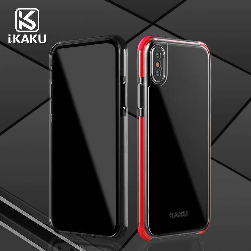 Private Design shockproof high clear mobile accessories bumper hard phone case pc cover for iPhone X case for iPhone 8 case
