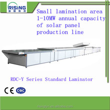 Manual laminating machine for PVsoalr panel of assembly line with CE ISO
