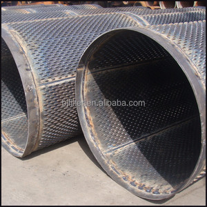 Johnson v wire screen/perforated pipe/ bridge slot screen drilling filter