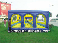 Basketball inflatable bungee game / inflatable bungee sports