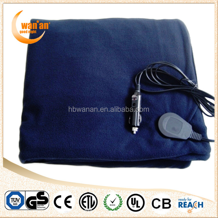 portable 12v electric heating blanket for auto