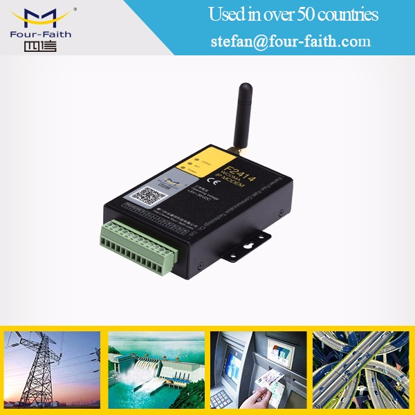 RS485 RS232 serial i/o gsm wireless GPRS industrial modem with AT command celular modem gsm
