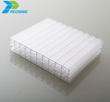 white plastic pc sheet multiwall polycarbonate sheet