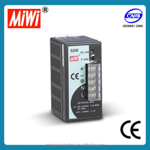 LP-50-12 50w 12V 4.2a Single Output LED DIN Rail Power Supply long service life natural air cooling