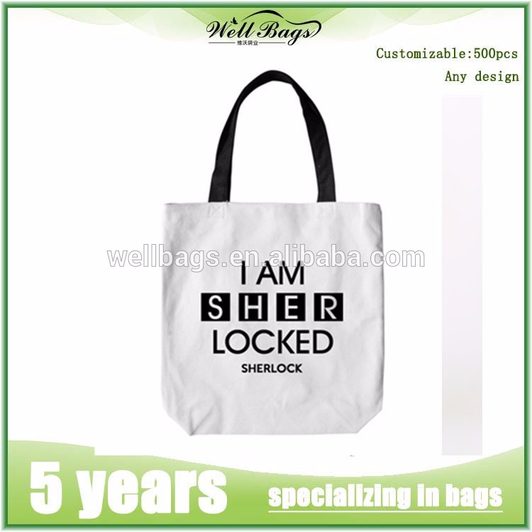 customized wholesale calico tote canvas cottonshopping bag alibaba trade assurance