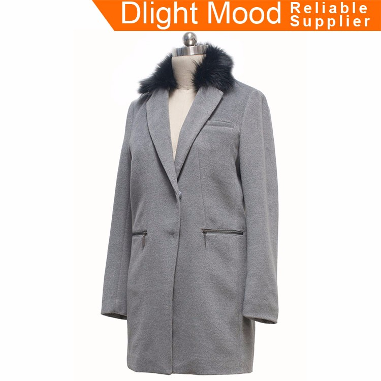 Wholesale fake wool coat ,fashion fake fur coat,fake wool clothes