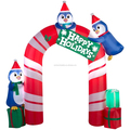 New design xmas decorations , inflatable christmas arch for wholesale
