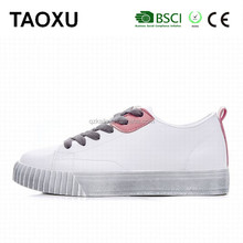 2017 new arrival autumn winter thick bottom shoes casual ladies fancy shoe british wind alibaba women footwear