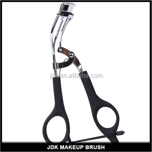High quality Wholesale Private label Eyelash Curler Black with Silicone