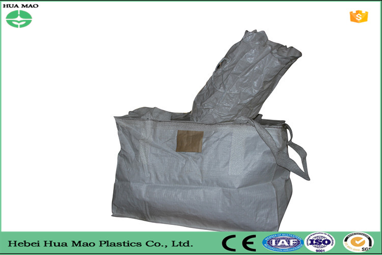 China 4 Belt 1 Ton pp gravel and sand bag