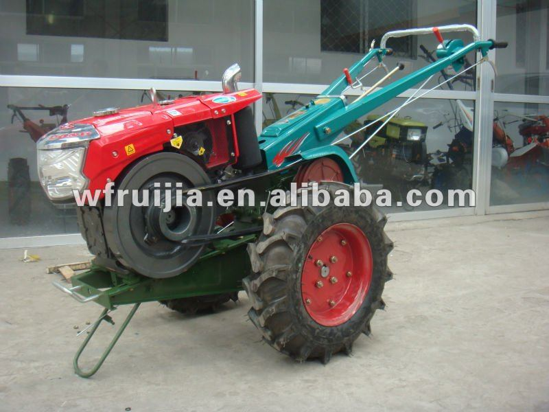 8-14HP Copy Kubota Used Gearbox Power Tool Wheel Mini Tractor/ Harvest Machine/Mini Cultivator/Mini Tractor