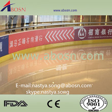 Outdoor and indoor aluminum frame plastic hockey boards with pe sheet \the original manufacturer