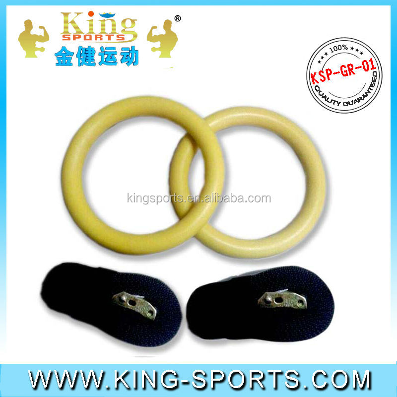 Wooden gym ring/Fitness gym ring