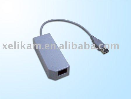 For Wii Network lan adaper for Nintendo lan adapter