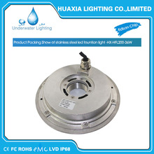 IP68 36W 316stainless Steel RGB LED Underwater Fountain Pool Light